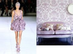 Alexander McQueen Spring 2012 RTW and Domino
