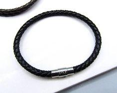 Woven & Braided Bracelets   Etsy Braided Bracelets, Paracord Bracelets, Bracelets For Men, Leather Bracelets, Leather Jewelry, Personalized Bracelets, Handmade Bracelets, Copper Anniversary Gifts, Nautical Bracelet