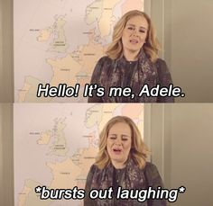 Everyone knows Adele is a flawless queen who is about to set off on a world-conquering tour, even though it's questionable if anyone *ACTUALLY* got tickets to her shows. | Adele Working Out Is All Of Us Trying To Get Into Shape