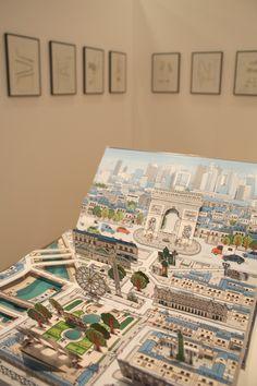 """www.sylvie-bessard.com   le blog: > Exposition """"POP-UP"""" au Préau des Arts de Maxéville (54)."""