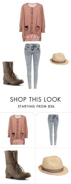 """""""chasitys verona outfit"""" by midnightstar121 ❤ liked on Polyvore featuring Marni, River Island, Madden Girl and Witchery"""