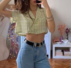 Indie Outfits, 70s Outfits, Teenager Outfits, Teen Fashion Outfits, Cute Casual Outfits, Vintage Outfits, Girl Outfits, Grunge Outfits, Aesthetic Fashion