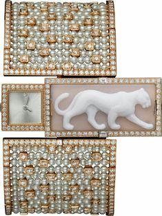 """Cartier """"Panthère"""" secret watch"""