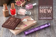 I have always been a big fan of Barry M and therefore was very excited to attend their latest event and have a first look at all their NEW Spring '16 Beauty Launches*. And what else would I do other t