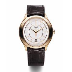 """La montre """"Gouverneur"""" de Piaget http://www.vogue.fr/joaillerie/le-bijou-du-jour/diaporama/la-montre-gouverneur-de-piaget/10282"""