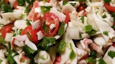 "Crab Ceviche Prep 40 m Ready In 40 m Recipe By:LOUISGUCCI ""This has always been a crowd pleaser in my home. This is wonderf. Fish Recipes, Seafood Recipes, Mexican Food Recipes, Appetizer Recipes, Great Recipes, Appetizers, Cooking Recipes, Salad Recipes, Ww Recipes"
