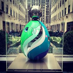 Jeff Koons Easter Egg from #thebigegghuntny. You won't believe what it's going for at auction right now!