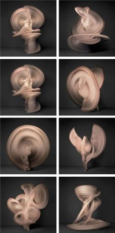 Shinichi Maruyama - Nudes Motion of Life. Movement of a nude captured in sequence.