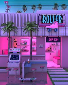 New Retro Streetwear Synthwave Fashion Brand Aesthetic Pastel Wallpaper, Retro Wallpaper, Aesthetic Backgrounds, Aesthetic Wallpapers, Neon Aesthetic, Aesthetic Rooms, Aesthetic Vintage, Photo Deco, Retro Waves