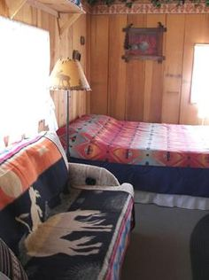 Interior of cabins at Geronimo Trail Guest Ranch.  http://www.ranchseeker.com/Search/GeronimoTrailGuestRanch