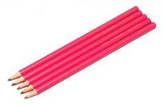 Originální dárek pro svatební hosty - růžové svatební tužky   Svatební diář