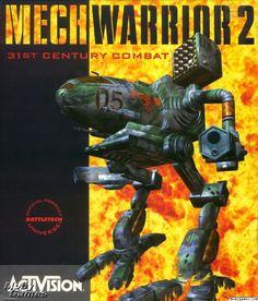 MechWarrior 2: 31st Century Combat DOS Front Cover