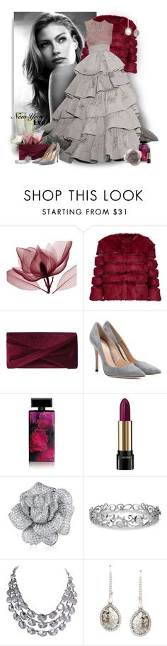 """New Years Eve"" by perla57 ❤ liked on Polyvore featuring AINEA, Reiss, Gianvito Rossi, Elizabeth Arden, Lancôme, Effy Jewelry, Saqqara and Daum"
