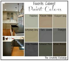 Great Favorite Kitchen Cabinet Paint Colors Friday Favorites The Creativity Exchange. The post Favorite Kitchen Cabinet Paint Colors Friday Favorites The Creativity Exchange… appeared first on Post Decor . Kitchen Redo, New Kitchen, Taupe Kitchen, Awesome Kitchen, Beautiful Kitchen, Updated Kitchen, Kitchen Tiles, Painting Oak Cabinets, Painting Oak Furniture