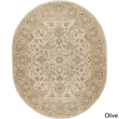 Elegant and charming, this lovely Tiana Traditional Wool Rug brings classic traditional floral print into your home. Hand-tufted from wool, this rug is durable.