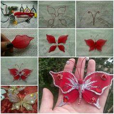 Mariposas con medias