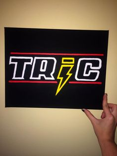 One Tree Hill TRIC painting by CaitlinJHillDesigns on Etsy