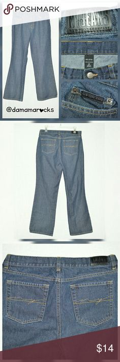 """🆕 Listing! New York & Company Boot Cut 12 New York & Company Boot Cut Jeans Excellent Condition Size 12  Measurements are approximate and were taken with garment laying flat  Waist: 15"""" Hips: 21"""" Inseam: 29"""" Outseam: 39"""" Front Rise: 11"""" Back Rise: 15"""" Leg Opening: 9 1/2""""  *Item is used   Thank you for shopping my closet!     (151) New York & Company Jeans Boot Cut"""