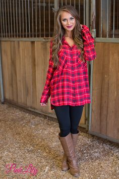 Plaid is simply a must-have for your fall wardrobe - check out this classic and versatile piece!