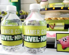 Gaming Truck Party Gamer Party Favors Gamer by lulucole on Etsy