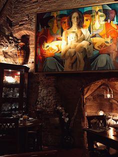 Grotta etrusca a Siena, Ristorante suggestivo dalla bella atmosfera e dai magnifici piatti.  TOSCANA