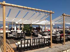 Stabilimento balneare in Costa Azzurra, Cannes