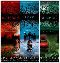 Trylle series by Amanda Hocking. I can't believe these books aren't more popular. These books are amazing-must read