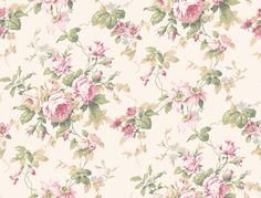 Callaway Cottage CT0800 Rose Floral Trail Wallpaper