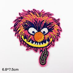 New to craftapplique on Etsy: Funny patch Cartoon patch funny Monster  freak freak git patch embroidered patch Full embroidery iron on patch sew on patch (A85) (3.00 USD)