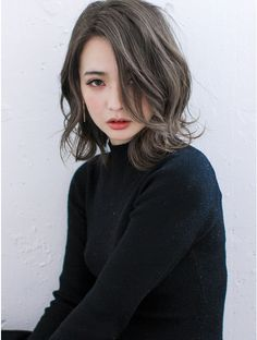 Easy Hairstyle Easy Hairstyle in 2020 Japanese Hair Color, Korean Hair Color, Asian Short Hair, Girl Short Hair, Korean Wavy Hair, Permed Hairstyles, Easy Hairstyles, Japanese Hairstyles, Korean Hairstyles