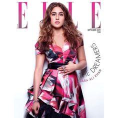 "Do you like the magazine ""Sara Ali Khan - Elle Magazine Cover [India] (September Bollywood News, Bollywood Actress, Bollywood Updates, Bollywood Celebrities, Casual Dresses, Short Sleeve Dresses, Sara Ali Khan, Elle Magazine, Magazine Covers"