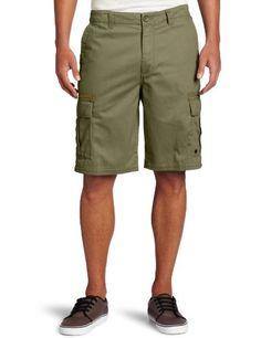 Quiksilver Men's Ignition Cargo Short, Green.