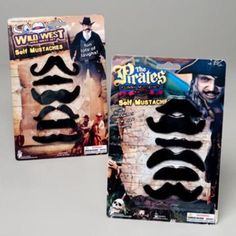 Fake Mustaches 6Pc Multi Style Pack - 72 Units