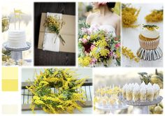 Soft Mimosa Inspiration Boards, Simple Weddings, Table Decorations, Home Decor, Decoration Home, Room Decor, Dinner Table Decorations, Interior Decorating