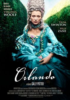 Orlando (1992) Sally Potter Theatrical Onesheet / Movie Poster for Nonstop Entertainment design by Kellerman Design