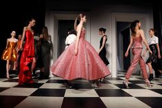 Week of Feb. 17, 2017: New York City, New York, USA: Models present creations during the Monse and Oscar de la Renta Autumn/Winter 2017 collection during New York Fashion Week on Feb. 13.