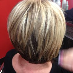 Gorgeous stacked bob by Stephanie Toole at our Countryside location in Tampa #SalonLofts #Stephanie Toole