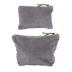 Cluth in grey cotton. Set of 2 <3 Design by Bloomingville