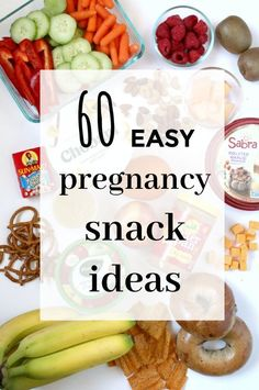 Easy pregnancy snack ideas for pregnant moms- the big list of snacks that are ea. - Easy pregnancy snack ideas for pregnant moms- the big list of snacks that are easy to make, fairly - Healthy Pregnancy Snacks, Pregnancy Eating, Pregnancy Nutrition, Pregnancy Health, Healthy Snacks, Healthy Recipes, Pregnancy Tips, Food For Pregnancy, Pregnancy Lunches