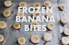 Want something cold and sweet to eat on hot, humid days? These frozen banana bites - complete with salted peanut butter & pretzels - are a little fancier and easier to eat than whole frozen bananas, and take very little active prep time. They're as easy to prepare as a sandwich, just with more freezing. The mix of sweet, salty, and creamy (plus chocolate coating!) is divine - a perfect snack for a summer arrested development marathon ;P  Read More
