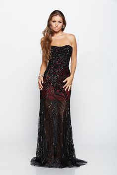 Buy the Embellished Sweetheart Evening Gown E2117 by Milano Formals at CoutureCandy.com, shop Milano Formals E2117 now for attractive discounts.