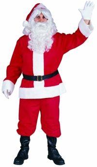 adult plush santa costume #christmas