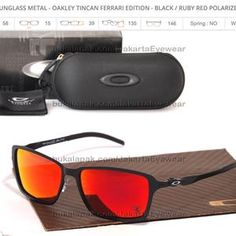SALE Sunglass Tincan Ferrari Edition - Black / Ruby Red Polarized
