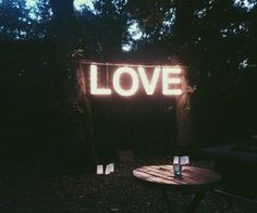 #love #lights #outdo
