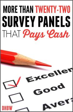 Looking for a legitimate online survey site? You can work from home taking surveys from your computer while earning money with more than 22 companies.