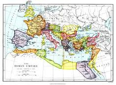 Map of the roman empire ad 117 maps of the ancient world world map roman empire google search gumiabroncs Image collections