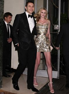 Newlywed Lara Stone amped up the glamour in a glittering Givenchy mini for her wedding reception. We like her thinking! #Wedding
