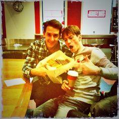 Love these 2 weirdos! ♡