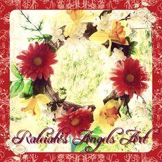 "Just finished my 2nd ""Mandala Flower Crown"", & I use it as Window decoration❤️  www.raleiahs-angels.com New Darlings, Nature Spirits, Yarn Shop, Flower Mandala, Flower Crown, Floral Wreath, Angels, Art Gallery, Window"