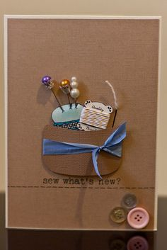 Sew What's New? by Samantha Simpson, via Flickr